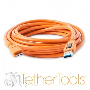테더툴즈 카메라케이블 TetherPro USB 3.0 SuperSpeed Micro-B Cable(4.6m)